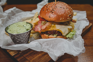 Burger LA Cheesy